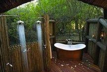 garden - outdoor bath