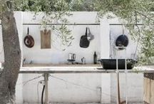 garden - outdoor kitchen & grill
