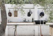 garden - outdoor kitchen & grill