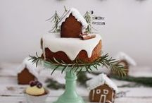 christmas cakes & cookes