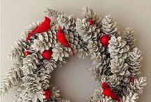 christmas wreath & door decor