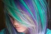 Hair I love / If I could only have mermaid hair...