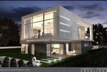 House in Berlin / Dom w Berlinie / Realizacje i projekty domów jednorodzinnych. #architecture #dom