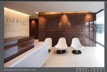 Gynecological Clinic / Klinika ginekologiczna / Interiors of modern gynecological clinic in Warsaw