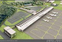 Airport / Lotnisko Lublin-Świdnik / Projekt konkursowy lotniska Lublin-Świdnik.