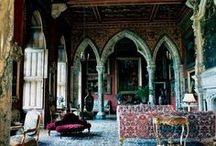 Moroccan Furnishings and Decor / I am constantly inspired by the vivid use of colour in Moroccan furnishings and decor. This board is to inspire me - and hopefully you, too.