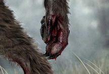 Gunnar Randulf / Nate Temple's trusty sidekick, The werewolf FBI Agent inspirations.