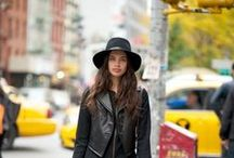 Leatherjacket meets Hat
