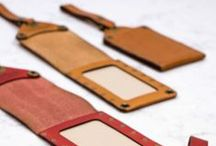Leather Accessories / Well made leather goods, hand crafted in Portland, Oregon.