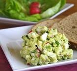 Salads + Wraps / Healthy, hearty salads and fresh wrap recipes.