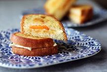Grilled Cheese / Classic cheesy goodness and fresh new takes on the traditional grilled cheese.