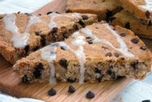 Muffins + Sweet Breads / Muffins, monkey bread, pull apart bread, fruit loaf, cinnamon rolls, scones, banana bread...