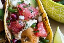Taco Tuesday / We love Taco Tuesday!  Or Taco Thursday...or Friday! Every day can be taco day with these delish taco recipes, tequila drink recipes, and taco shaped everything!