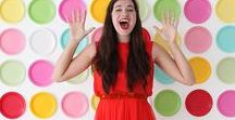 DIY Party Decor / Pump up your party decor with these DIY ideas for backdrops, photobooths, table decor and more!!