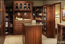 Closet / Luxurious, custom closets made to fit any space.