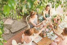 WEDDING ~ bridal Party / So etwa würde ich die mir wünschen ;)