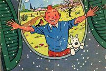Tintin y Milu / by Jose Maria