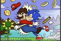 Mario and Sonic / Everyone's Favorite Characters from Nintendo and SEGA! / by Music Magic