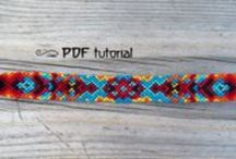 friendship  bracelets / Friendship bracelets, patterns and tutorials