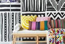 Colorful Spaces / Beautiful design spaces that use pops of fun color!