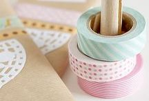 CRAFT ~ washi tape!