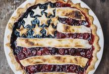 Stars & Stripes / Patriotic recipes, decor, and DIY projects for celebrating Memorial Day, 4th of July, and Veteran's Day.