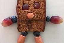 Zelfbedachte gezonde traktaties van kinderen / Met een paar voorbeelden maken kinderen in workshops de leukste, gekste creaties