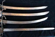 Espadas,cuchillos,etc. / by Jose Maria