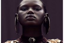African beauty... / Judge beauty by not how many people who look at you ,  but rather by number of them who smile at you