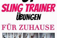 TRX Übungen- Sling Trainer Workout
