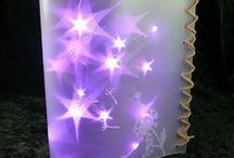 Starshine Film from Efco / Efco's Starshine Film turns LED fairy lights into starry magic! The star shine effect varies depending on the distance between the film and the light source.