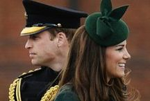 ~Royalty:  Prince W.& Duchess Kate~ / by bev b.