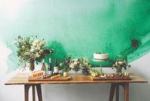♡ Wedding Dessert table