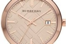 Burberry watches / by Chrono24