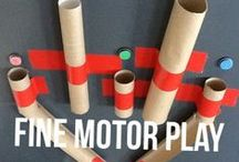 Fine motor activities / Ideas for the ever important fine motor skills!