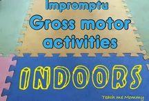 Gross motor activities / Great gross motor fun!