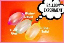 Science activities / Fun simple science ideas!