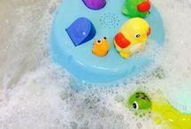 Bath activities / Make bath time fun!