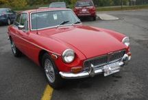 1974 MGB GT red with black interior / This car is a great driver and is now for sale from a loving owner who has recently purchased a MGC GT. This car can take you from A to Z in comfort and without question of reliability. The car looks great in red with wire wheels.