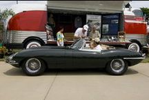 1963 Jaguar E Type Roadster in British Racing Green / This car is a show winner with an extensive JCNA history. Show or go. You can own this most beautiful of classic cars for half the price of a restoration.