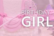 Birthday Girl / From princess cakes to sweet fairies and rainbows, find all the cake decorating inspiration you need to create a magical party for your Birthday Girl.