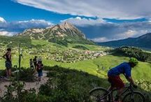 Mountain Biking in Crested Butte / Crested Butte is home to some of the most scenic bike trails around the world and known for some of the oldest mountain biking around. Plus Crested Butte Mountain Resort is home to the Evolution Bike Park - boasting over 30 miles of trails ranging in ability.  #ridecb