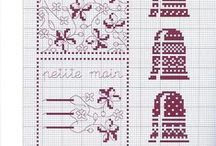 cross stitch squares / by lynne bickerton