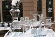 Rock On Ice / Enjoy the ice sculptures through the years of Crested Butte Mountain Resort hosting Rock on Ice.