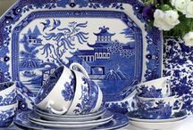 Willow Pattern / Everything willow pattern.