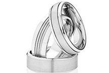 DORA White Gold Mens Wedding   Rings   Bands / Dora White Gold Mens Wedding   Rings   Bands