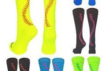 Softball / Softball Gifts, Softball Socks, Softball Jewelry, everything Softball!