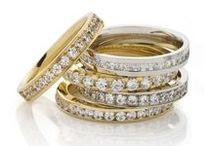 Womens'  Diamond Rings - DORA / DORA Womens' Diamond Rings