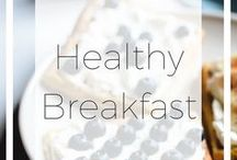 Healthy Breakfasts / Mornings are often left by without any food. Or you don't have any ideas how to make your morning snack healthier or light on your stomach? Here you can comfortably find more ideas and recipes for treating the hungry body in the morning.