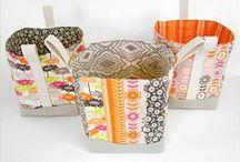 Costura & outros...Caixas e cestos / Todas as formas e tamanhos. / by Bia Alessi